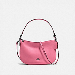 COACH F56819 Chelsea Crossbody BRIGHT PINK/DARK GUNMETAL