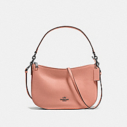 COACH F56819 Chelsea Crossbody DARK BLUSH/DARK GUNMETAL
