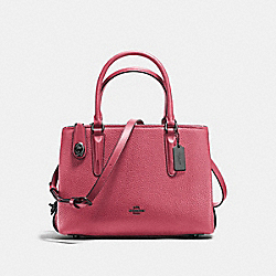 COACH F56839 Brooklyn Carryall 28 ROUGE/DARK GUNMETAL