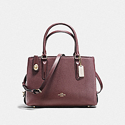 COACH F56839 Brooklyn Carryall 28 LI/OXBLOOD