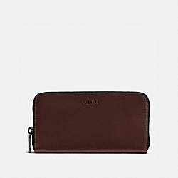 COACH F57098 Accordion Wallet MAHOGANY
