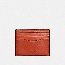 COACH F57101 Card Case DEEP ORANGE
