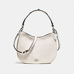 COACH F57119 - MAE CROSSBODY WITH WESTERN RIVETS SILVER/CHALK