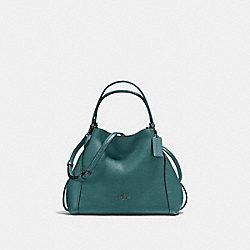 COACH F57124 Edie Shoulder Bag 28 GM/DARK TURQUOISE