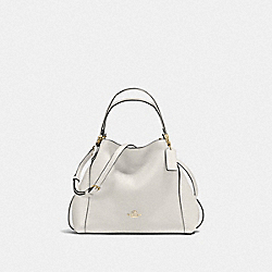 COACH F57124 Edie Shoulder Bag 28 LI/CHALK