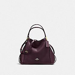 COACH F57124 Edie Shoulder Bag 28 LI/OXBLOOD