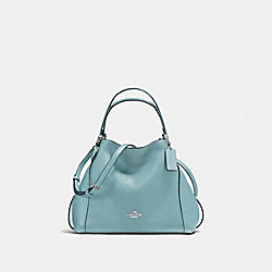 COACH F57124 - EDIE SHOULDER BAG 28 CLOUD/SILVER