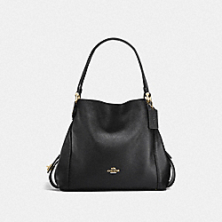COACH F57125 Edie Shoulder Bag 31 LI/BLACK