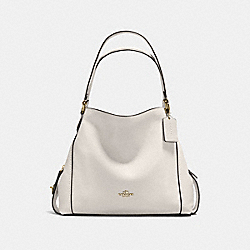 COACH F57125 - EDIE SHOULDER BAG 31 CHALK/LIGHT GOLD