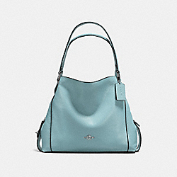 COACH F57125 Edie Shoulder Bag 31 CLOUD/SILVER