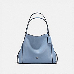 COACH F57125 - EDIE SHOULDER BAG 31 SLATE/SILVER