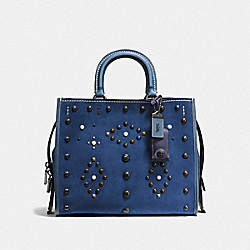 COACH F57163 - ROGUE WITH WESTERN RIVETS BP/DENIM