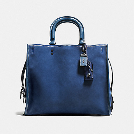COACH f57179 ROGUE 36 denim/black copper