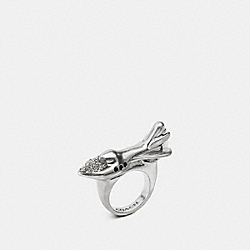 COACH F57189 Rocket Ring SILVER