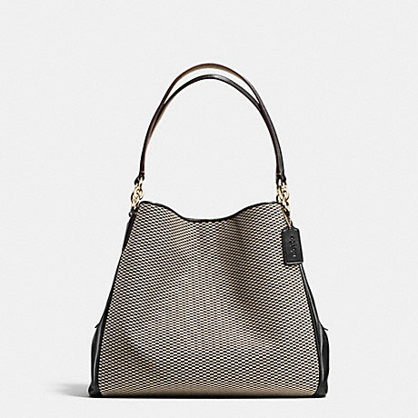 coach bag clearance outlet vebe  COACH f57248 PHOEBE SHOULDER BAG IN EXPLODED REPS PRINT JACQUARD IMITATION  GOLD/MILK/BLACK