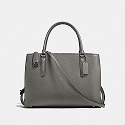 COACH F57276 - BROOKLYN CARRYALL 34 DK/HEATHER GREY