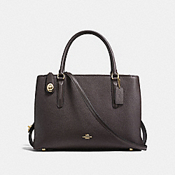 COACH F57276 - BROOKLYN CARRYALL 34 LIGHT GOLD/CHESTNUT