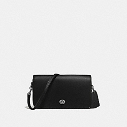 RILEY CROSSBODY - f57325 - BLACK/DARK GUNMETAL
