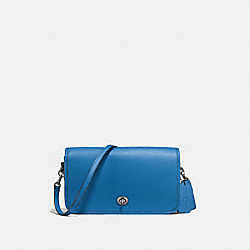 COACH F57325 - RILEY CROSSBODY LAPIS/DARK GUNMETAL
