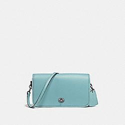 COACH F57325 Riley Crossbody CLOUD/DARK GUNMETAL