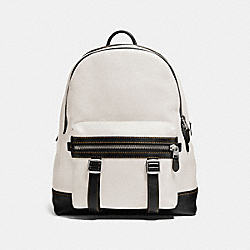 COACH F57408 Flag Backpack SOFT WHITE