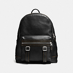 COACH F57408 - FLAG BACKPACK BLACK/BLACK