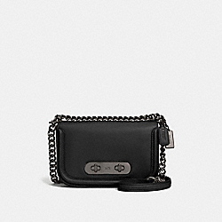 COACH F57446 - COACH SWAGGER SHOULDER BAG 20 DK/BLACK