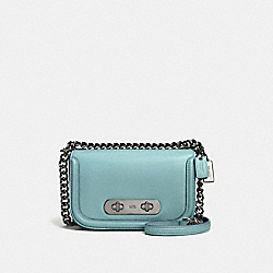 COACH F57446 Coach Swagger Shoulder Bag 20 DK/CLOUD