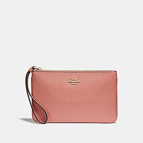COACH F57465 LARGE WRISTLET MELON/LIGHT-GOLD