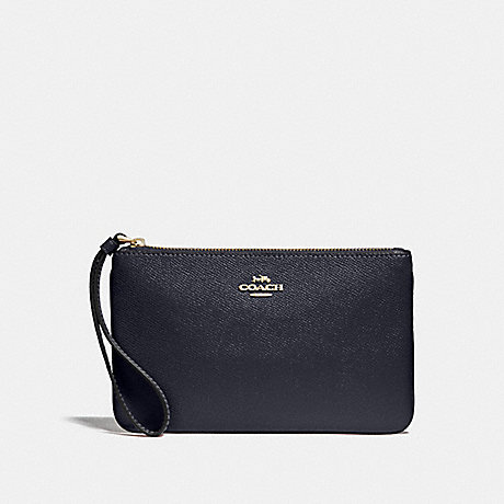 COACH F57465 LARGE WRISTLET MIDNIGHT/GOLD