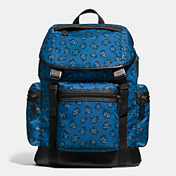 COACH F57476 - TERRAIN TREK PACK IN FLORAL NYLON DENIM FLORAL