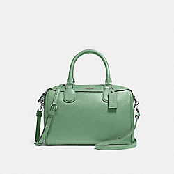 MINI BENNETT SATCHEL - f57521 - LEAF 2/SILVER