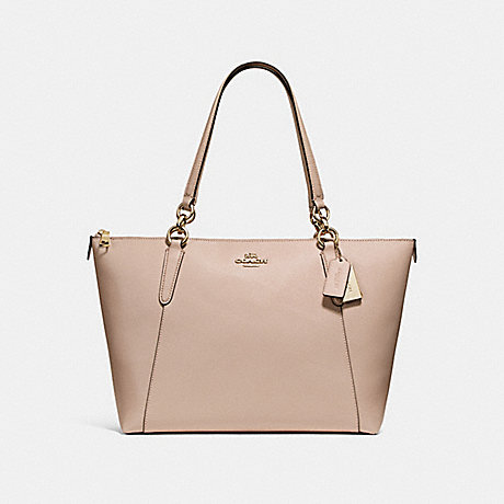 COACH f57526 AVA TOTE NUDE PINK/LIGHT GOLD