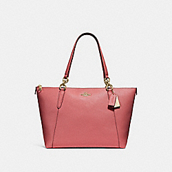 AVA TOTE - F57526 - ROSE PETAL/IMITATION GOLD
