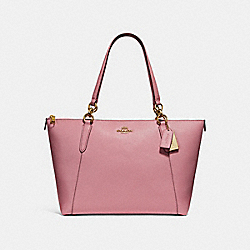 AVA TOTE - f57526 - Vintage Pink/LIGHT GOLD