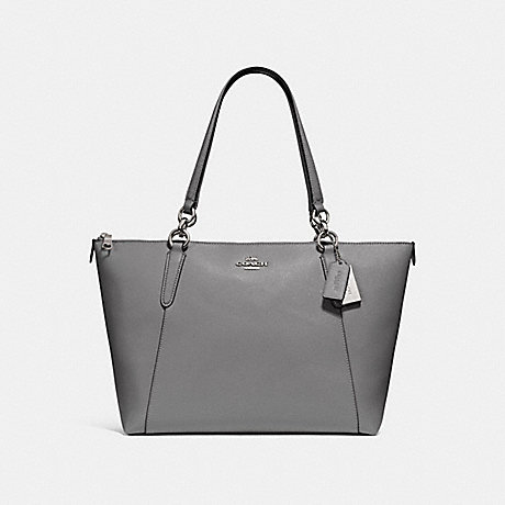 COACH F57526 AVA TOTE HEATHER-GREY/SILVER