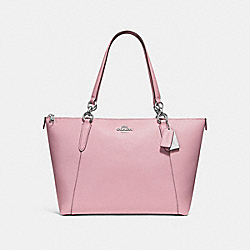AVA TOTE - F57526 - CARNATION/SILVER