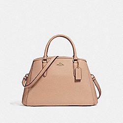 COACH F57527 Small Margot Carryall LIGHT GOLD/NUDE PINK