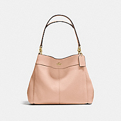 COACH LEXY SHOULDER BAG - LIGHT GOLD/NUDE PINK - F57545