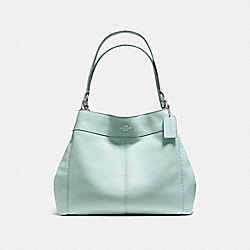 COACH F57545 Lexy Shoulder Bag SILVER/SEA GREEN