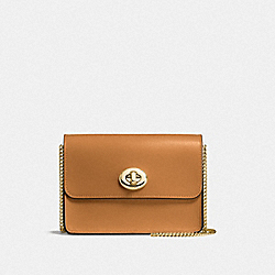 COACH F57714 - BOWERY CROSSBODY LI/LIGHT SADDLE