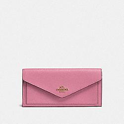 COACH F57715 Soft Wallet B4/ROSE