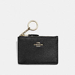 COACH F57841 Mini Skinny Id Case LI/BLACK