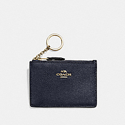 COACH F57841 Mini Skinny Id Case LI/NAVY