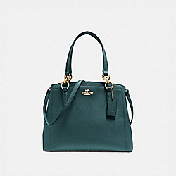 COACH F57847 - MINETTA CROSSBODY DARK TURQUOISE/LIGHT GOLD