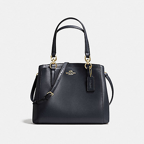 COACH F57847 MINETTA CROSSBODY MIDNIGHT/LIGHT-GOLD