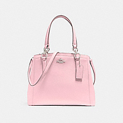 COACH F57847 - MINETTA CROSSBODY SILVER/BLUSH 2