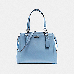 COACH MINETTA CROSSBODY - SILVER/POOL - F57847