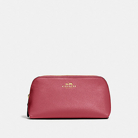 COACH F57857 COSMETIC CASE 17 ROUGE/GOLD