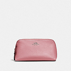COACH F57857 Cosmetic Case 17 QB/METALLIC DARK BLUSH